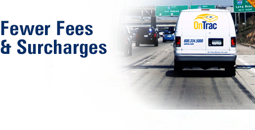 Fewer Fees and surcharges