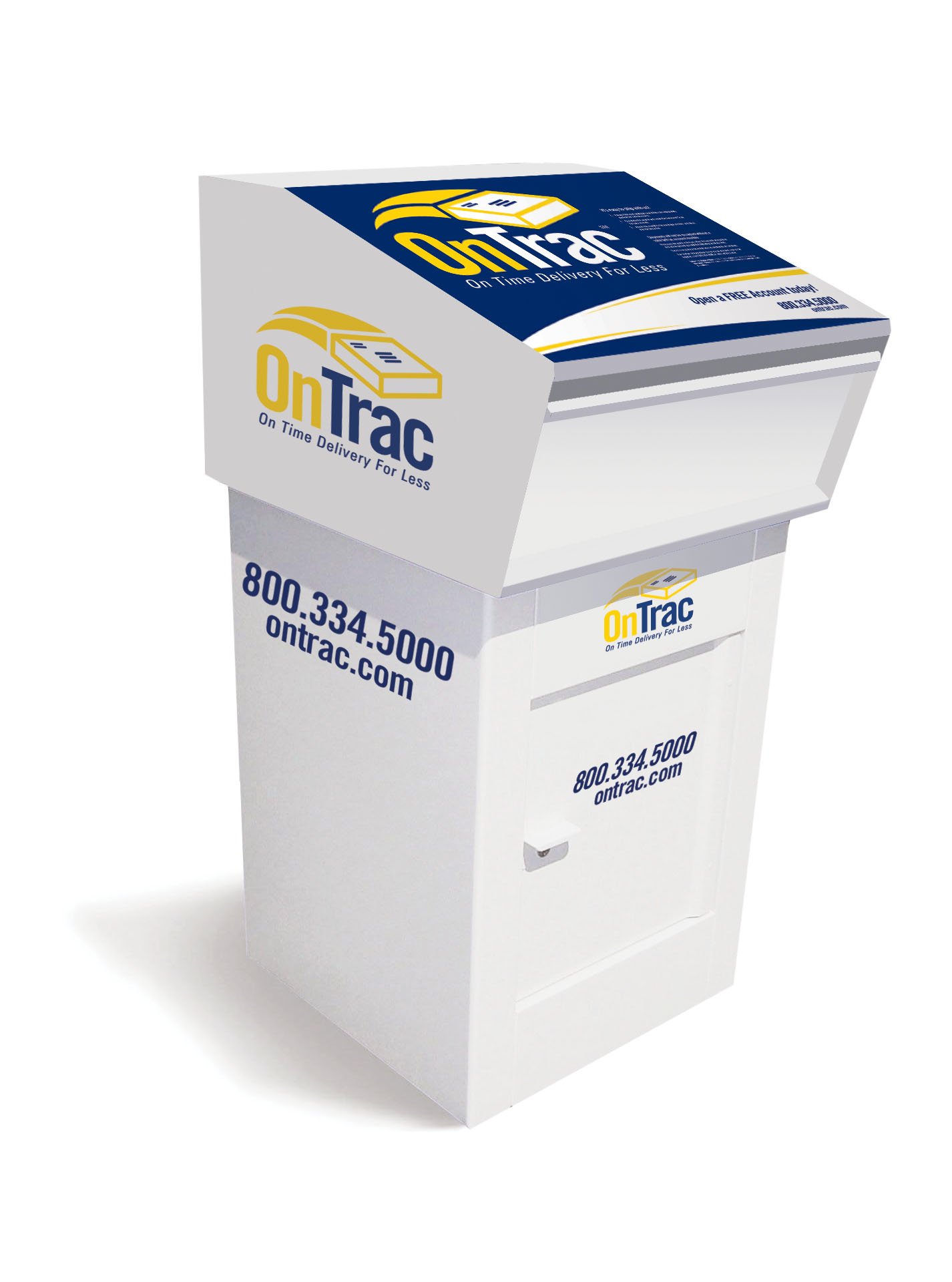 OnTrac Drop Box